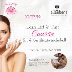 102719 Lash Lift Course